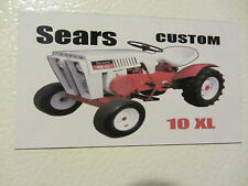 SEARS CUSTOM 10XL Fridge/tool box magnet
