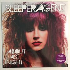 SLEEPER AGENT-ABOUT LAST NIGHT (LIMITED EDITION WHITE VINYL/DOWNLOAD)**VINYL