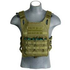Lancer Tactical Military & Hunting JPC Jumpable Armor Plate Carrier OD Green