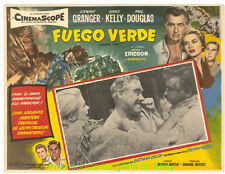 GREEN FIRE Movie Poster Mexican LOBBY CARD #2 GRACE KELLY STEWART GRANGER