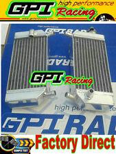 GPI Aluminum radiator Honda CRF250R CRF250X CRF 250R 250X 04 05 06 07 08 09 2004