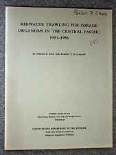 1962 MIDWATER TRAWLING FORAGE ORGANISMS Central Pacific Ocean KING IVERSEN Fish