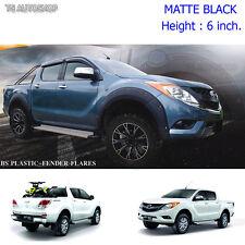 """For Mazda Bt-50 Pro 4Dr Off-Road 13 14 15 Matte Nuts Fender Flares Wheel Arch 6"""""""