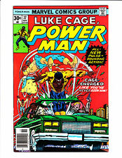 "Power Man  No.36    : 1976 :    :""Cage Enraged Like You've Never Seen Him!"":"