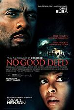 No Good Deed movie Poster 27x40 Double Sided DS 2014