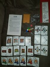 Clue Board Game - 1986 - Replacement Parts - 21 Cards & Case File Envelope ++j97