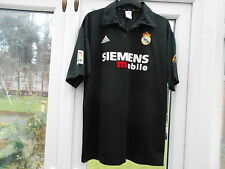 2002-2003 REAL MADRID AWAY FOOTBALL SHIRT.ADIDAS.XL ADULT.RONALDO.11.SIEMENS.
