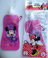 Minnie Mouse Foldable Water Bottle / sports bottle x 2