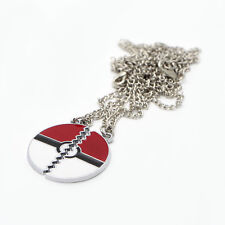 One pair Anime pokemon picachu pokeball friendship necklace for friend gift