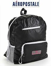 NWT GREAT $59.50 BLACK AEROPOSTALE BACKPACK  BAG NEW! GREAT!! TAKE IT TO GYM SEE