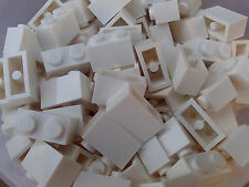 NEW LEGO BRICKS - 50 x WHITE 1x2 BRICKS 3004 -