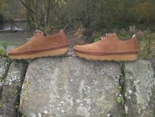 CLARKS ORIGINALS ** WALLABWEES EDGAR WAY ** DESERT TREK TOBACCO ** UK 12
