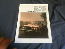 1976 Volvo 265 and 245 Station Wagon Color Brochure Catalog Prospekt