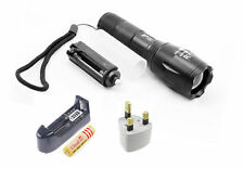 UltraFire 2000lm Lamp CREE XM-L T6 Zoomable LED Flashlight Torch +18650+ Charger