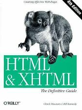 G, HTML & XHTML : The Definitive Guide, Kennedy, Bill, Musciano, Chuck, 05960002