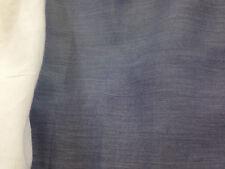 coupon de tissu  voile de  coton  bleu clair violine clair  3.00 m ; f pan