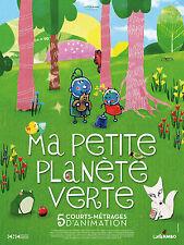 Affiche 40x60cm MA PETITE PLANÈTE VERTE (2016) court-métrage d'animation NEUVE