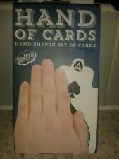 Pack of hand shaped playing cards