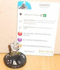 HERO CLIX - LOTR RETURN OF THE KING - FARAMIR - WITH CARD