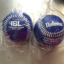 NOKONA IBL ISRAEL BASEBALL LEAGUE INAUGURAL SEASON 2007 5767 BASEBALL Blue NIP