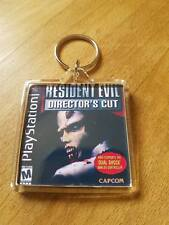 RESIDENT EVIL DIRECTOR'S CUT PLAYSTATION cover psx retro  KEYRING gaming ps1
