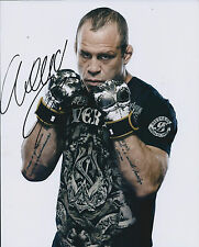 Wanderlei SILVA Signed 10x8 Autograph Photo AFTAL COA MMA UFC Ultimate Fighter