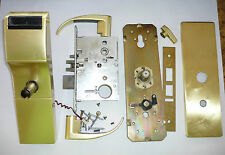 Used Tesa Onity Hotel Lock HT24i Satin Brass Gold Color Vingcard Ilco Kaba