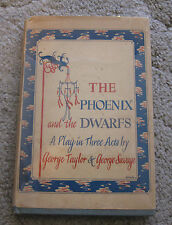 1st Edn/2nd P 1945 The Phoenix & Dwarfs A Play in 3 Acts Script Vintage Signed