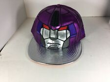 New Original Transformers Galvatron Hat New Era 59Fifty Fitted Sz 7 5/8