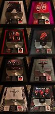8 RARE Motley Crue Platinum Record Album Disc Music Award Grammy RIAA MTV