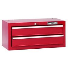 Craftsman 26 in. 2-Drawer Standard Duty Ball Bearing Middle Chest Tool Box - Red