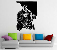 Punisher Wall Decal Vinyl Sticker Hero Marvel Comics Character Decor (12pn01r)