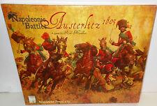 BOARD WAR GAME Avalanche Press Napoleonic Battles Austerlitz 1805 Unpunched VGC