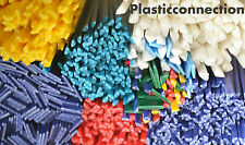 HDPE plastic welding rods (PEHD) colour mix 42pcs. Automotive, water industries