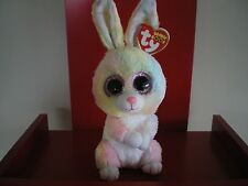 Ty Beanie Boo BUBBY rabbit  6 inch NWMT. NEW RELEASE EASTER BEANIE BOO.