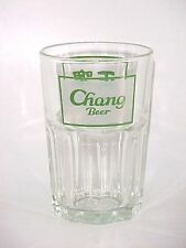 OLD COLLECTION ! 1 x Singapore drinking glass - Chang  Beer 正啤
