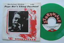 "7"" Papa Bue's Viking Jazzband - When The Saints / 1919 March - Green Vinyl"