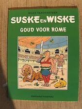 Suske en Wiske  Goud voor Rome  met groene omslag 2001