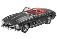 MINICHAMPS Mercedes-Benz 300 SL Roadster W198 Grey/Red DEALER 1:18 Rare Find!