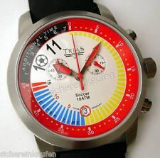 Trias Chronograph #458 Großer Chrono für den Herren und Fußball-Fan (bunt)