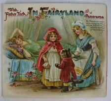 SCARCE Antique With Father Tuck in Fairyland Panorama ORIGINAL, COMPLETE!