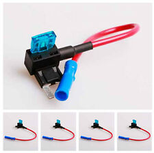 5x  Mini Fuse Tap Add on Circuit Adapter Auto Car Battery Terminals Tool