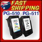 2x Ink Cartridge PG510 CL511 for Canon IP2700 MX410 MX350 MX330 MX320 MP499