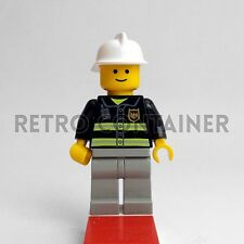 LEGO Minifigures - Fireman - cty035 - City Town Vintage Omino Minifig Set 9247