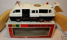 MADE JAPAN DIAPET YONEZAWA TOYS TOYOTA HIACE POLICE BUS 1975 REF 334 = P42 BOX a