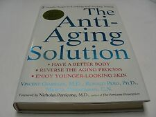 ANTI-AGING SOLUTION - 5 SIMPLE STEPS TO LOOKING YOUNG - 2004 - HARDBACK BOOK!