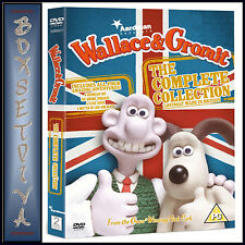 WALLACE & GROMIT - COMPLETE COLLECTION - *NEW & SEALED*
