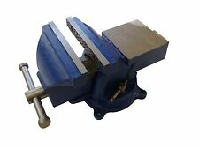 5'' BENCH VISE ANVIL SWIVEL LOCKING BASE TABLE TOP CLAMP HEAVY DUTY STEEL