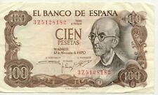 ESPAGNE SPAIN ESPANA 100 PTS 1970 état voir scan 182