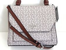 NWT Guess Bag Colmar Brown Small Handbag Satchel Crossbody SV651818 MSRP $128